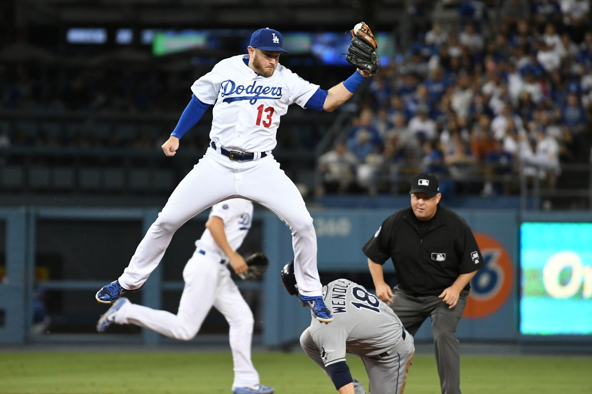 MLB: Tampa Bay Rays at Los Angeles Dodgers