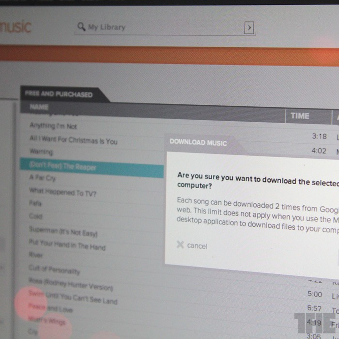 Google Music now lets you download MP3 copies of your stored tunes
