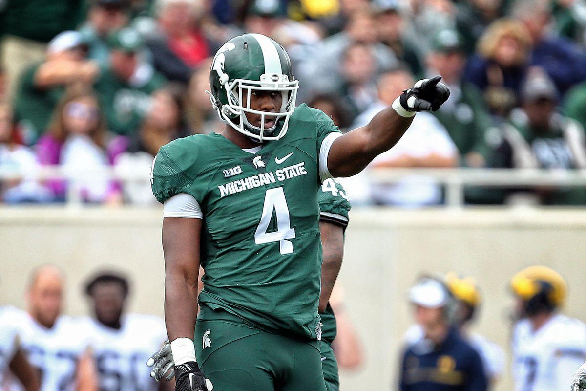 Michigan State DL Malik McDowell