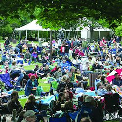 A summer night at Ravinia Festival in Highland Park. | Sun-Times file photo