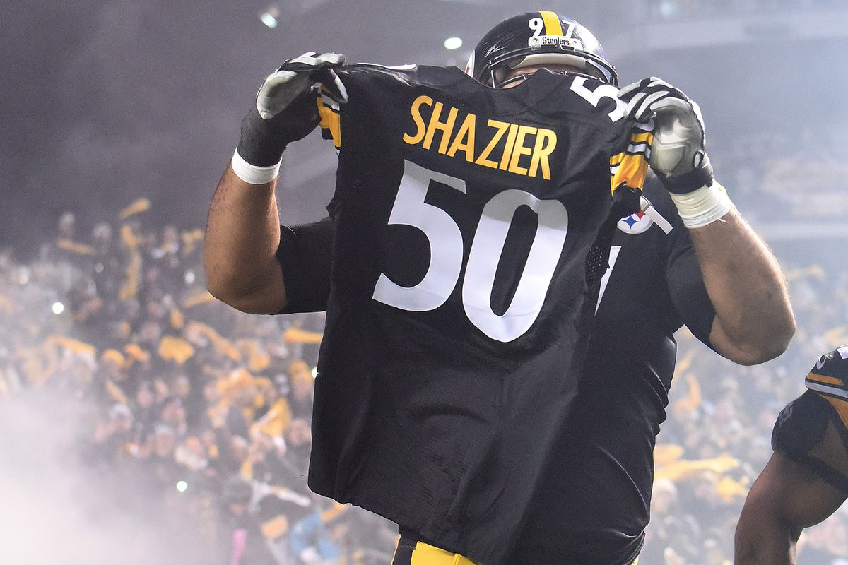 d2f69479901 Share Steelers dedicate win to Ryan Shazier in Week 14 of the NFL. tweet  share Reddit Pocket Flipboard Email. Philip G. Pavely-USA TODAY Sports