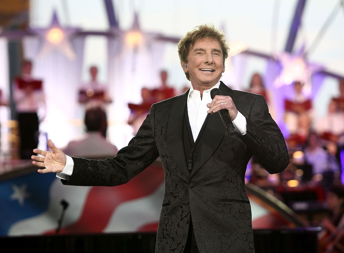 Barry manilow comes out