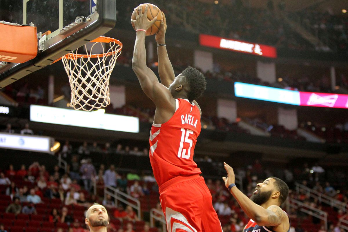 NBA: Washington Wizards at Houston Rockets