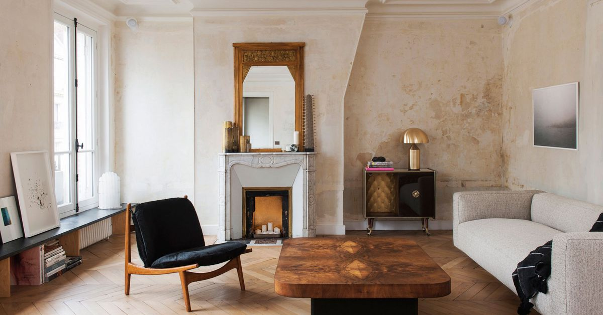 Classic Paris Apartment Goes Minimal With Stark Renovation Curbed Adorable 2 Bedroom Apartments For Rent In Dc Minimalist Remodelling