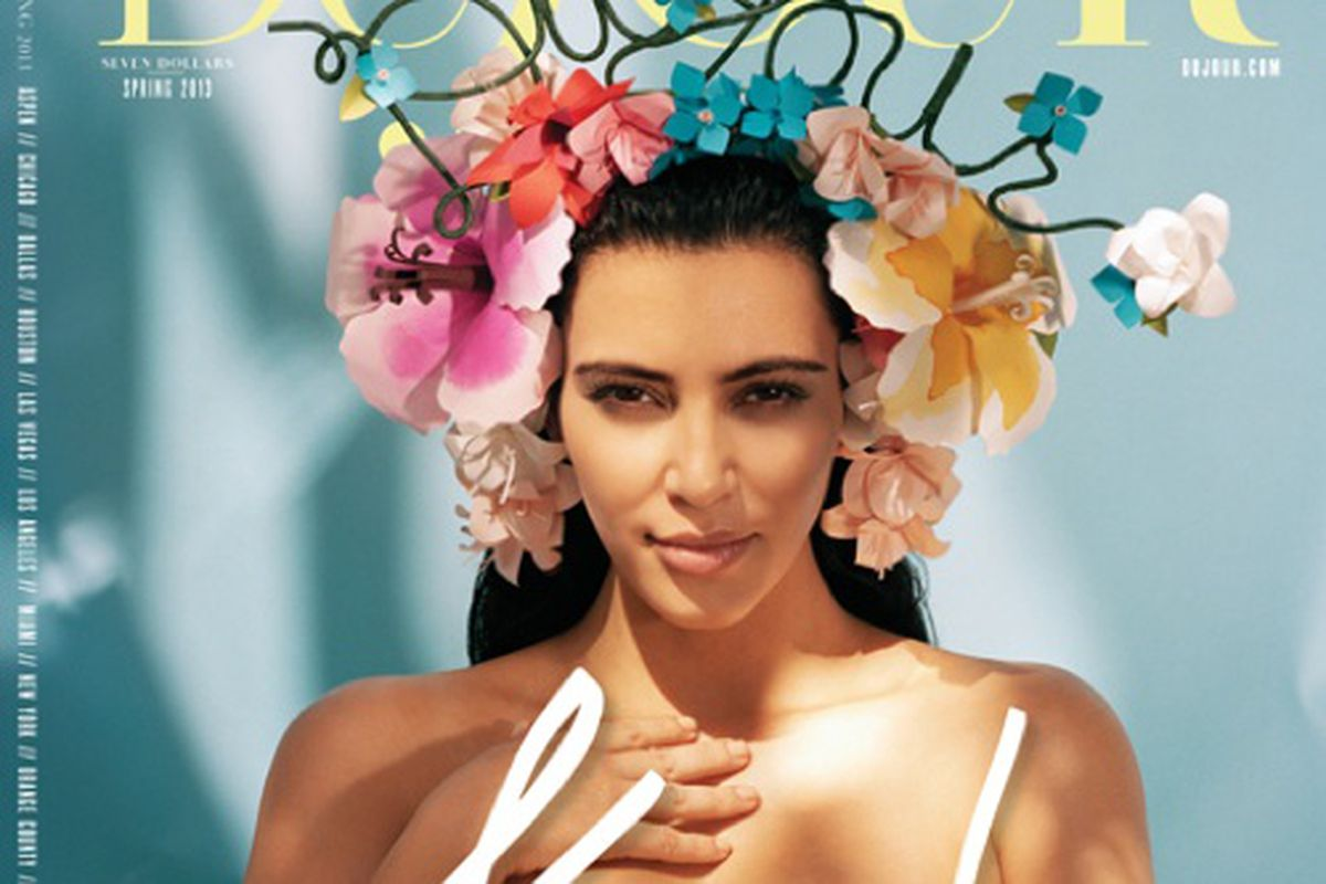 "Image via <a href=""http://www.style.com/stylefile/2013/02/kim-kardashian-star-du-jour/"">Style.com</a>"