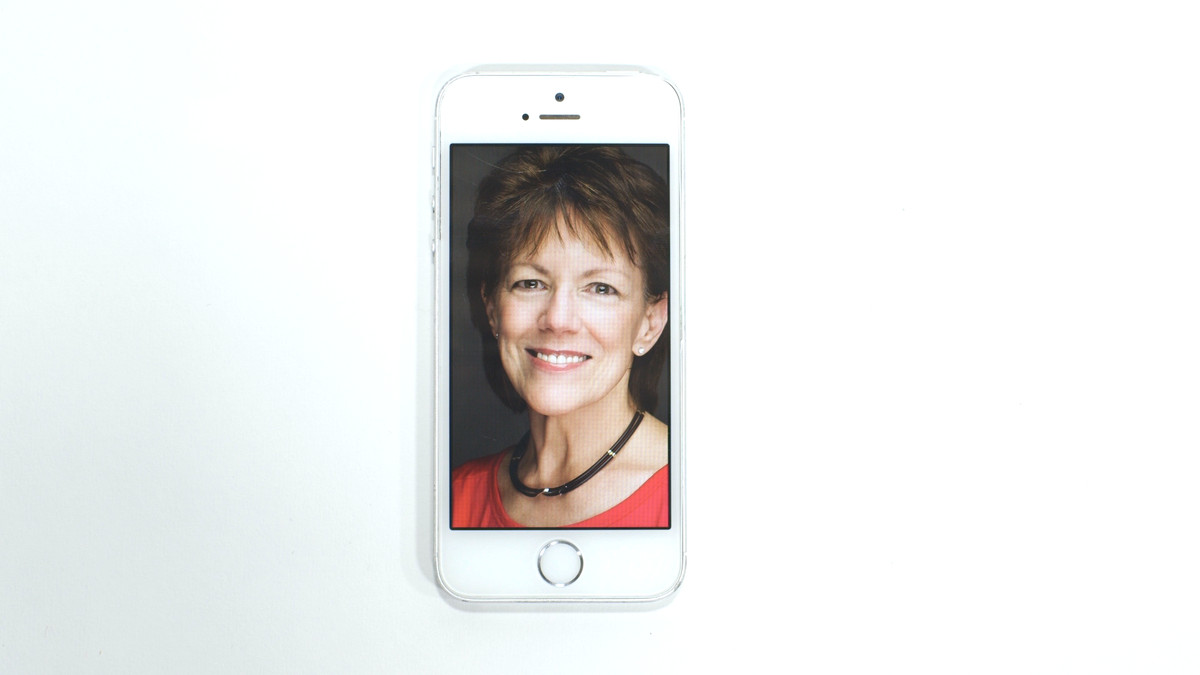 Susan Bennett, the original voice of Siri.