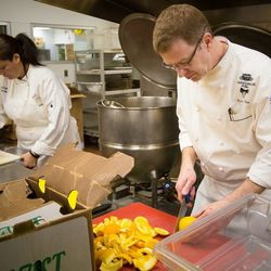Chef Sean Roe oversees culinary operations for Emeril's four Vegas restaurants.