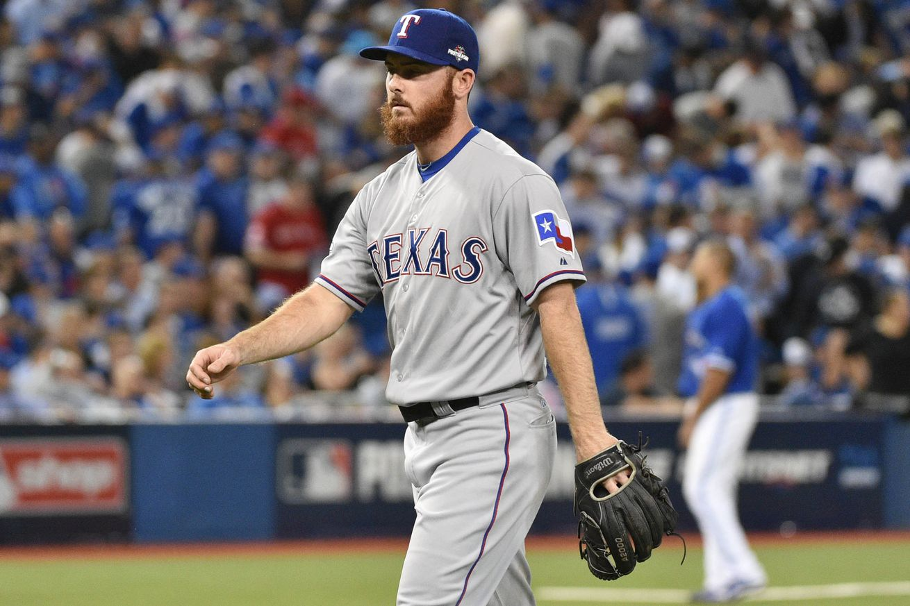 rangers pitcher who gave up jose bautista u0027s game winning hr hated