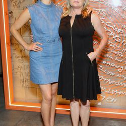 Taylor Schilling and Kate Mulgrew attend 29Rooms Chicago. | Robin Marchant/Getty Images for Refinery29