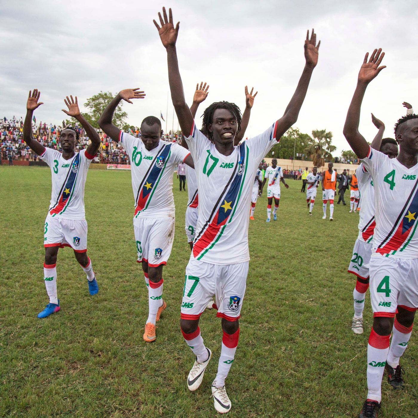 brand new 3bf8b fd69d South Sudan's Soccer Jerseys Are Made By This 23-Year-Old ...
