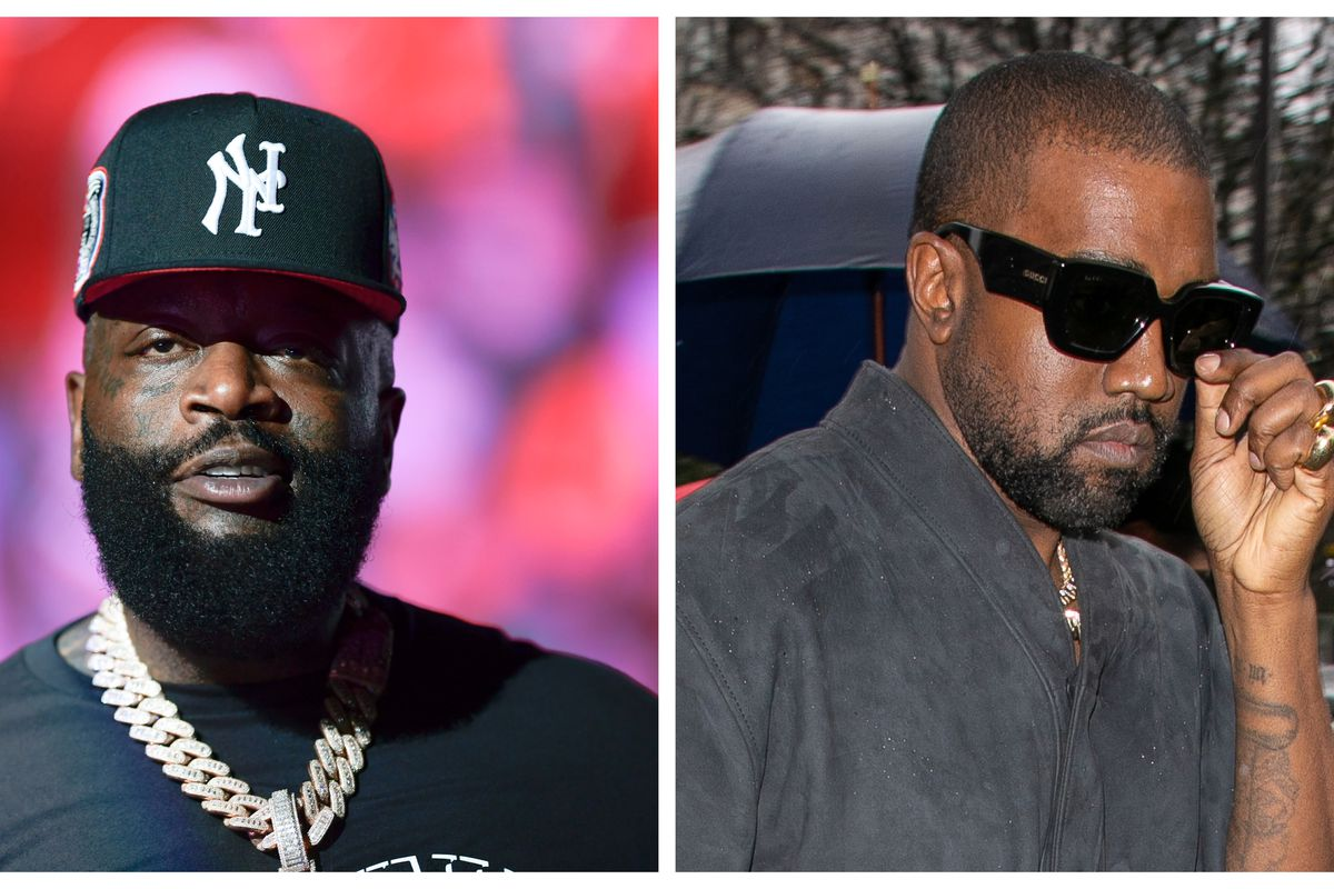 Rick Ross and Kanye West