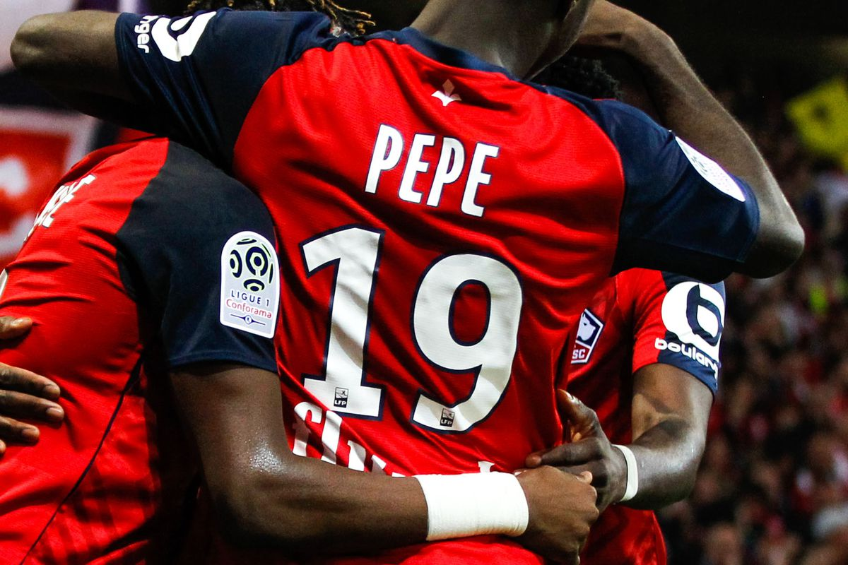 half off 1e613 ee99c Arsenal reveal Nicolas Pepe's shirt number - The Short Fuse