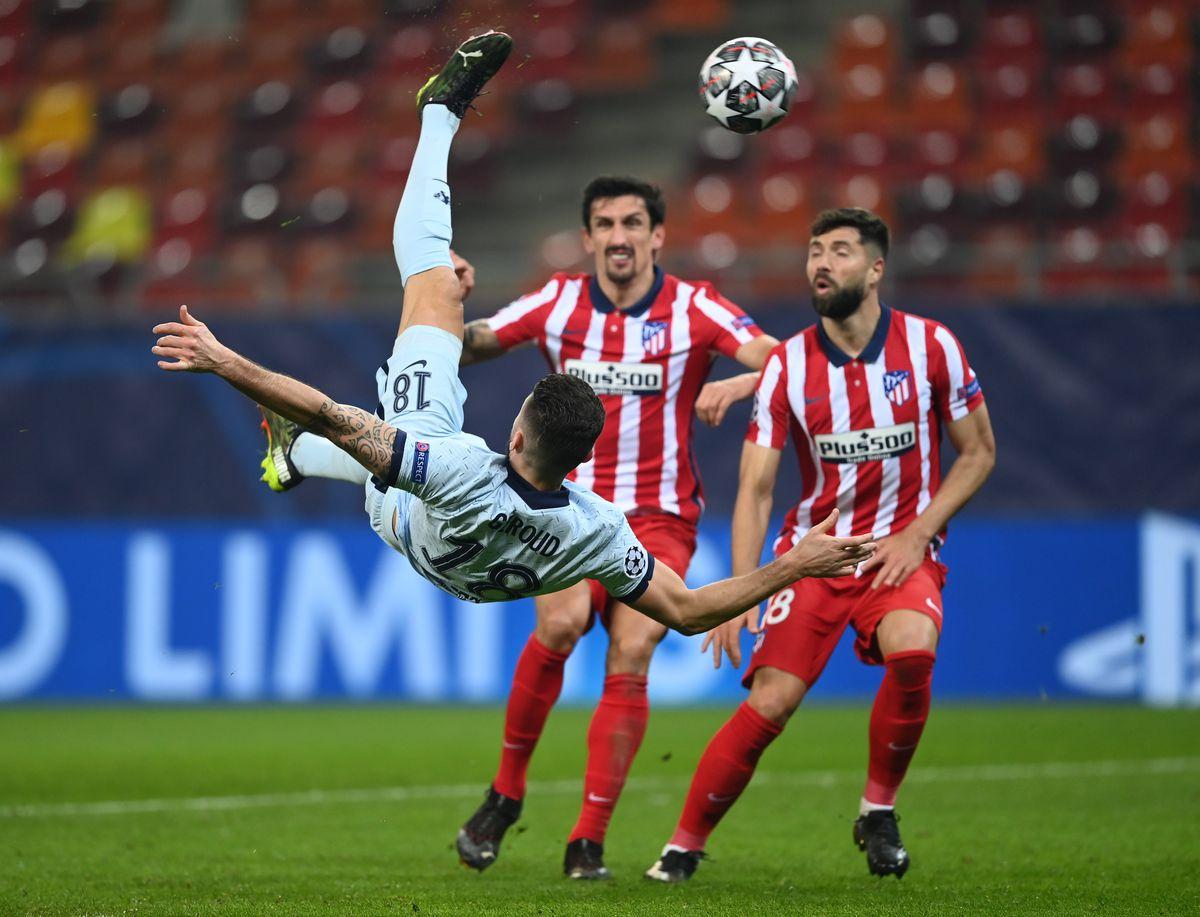 Atletico Madrid v Chelsea FC - UEFA Champions League Round Of 16 Leg One
