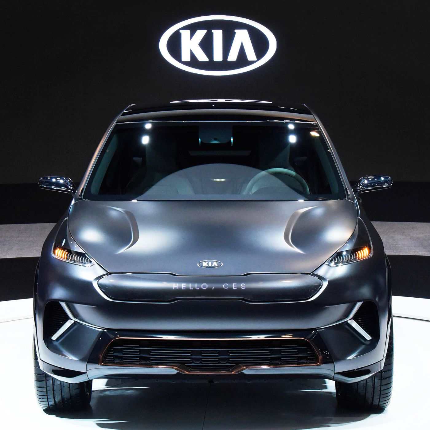 2018 Kia Niro All-electric Model >> Kia Niro Ev Is A Thinly Disguised Concept With 238 Miles Of Range