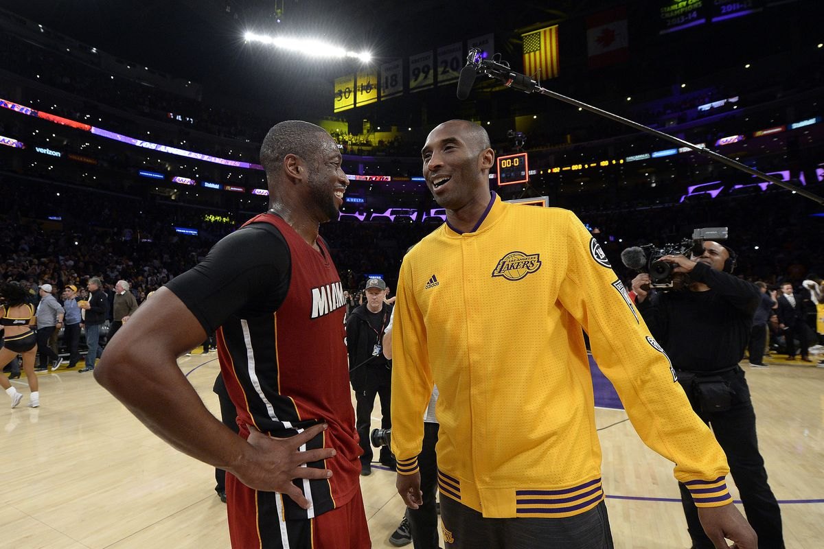 a97fda45248 Lakers News: Dwyane Wade says Kobe Bryant is the one player he wishes he  could've been teammates with. New ...