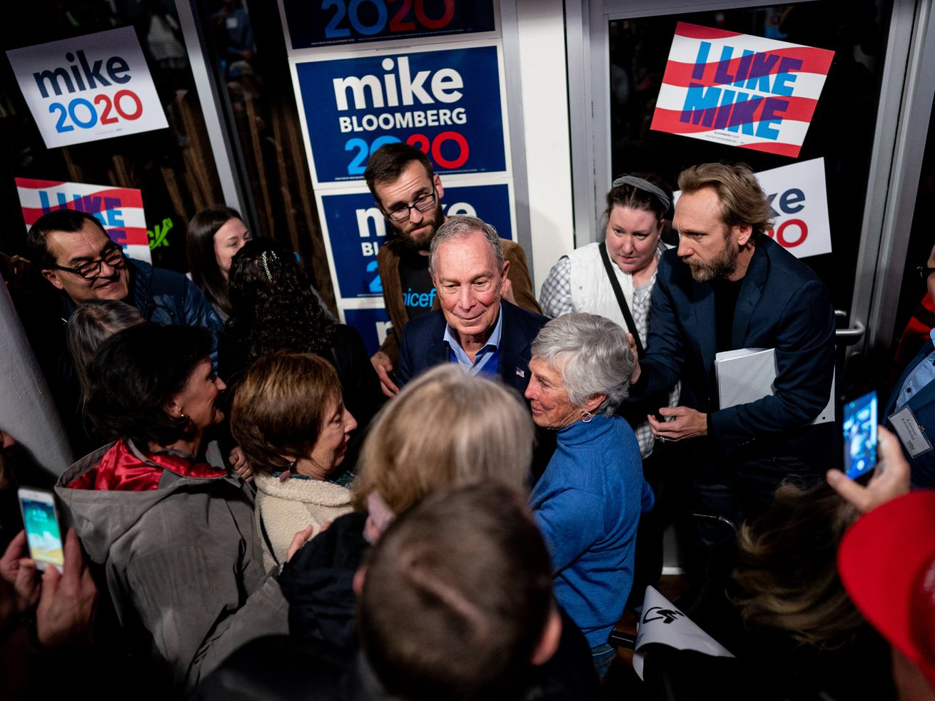 Democratic presidential candidate Mike Bloomberg: 'I know how to unite people'