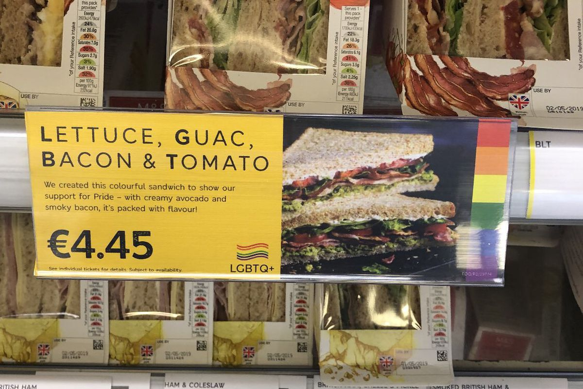 Pride Month 2019 starts with an LGBTQ+ sandwich from Marks and Spencer