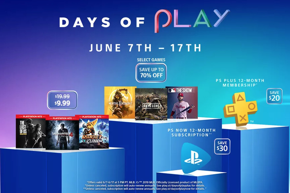 PlayStation's annual Days of Play sale underway now - Polygon