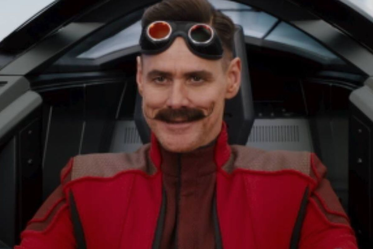 """This week """"Sonic the Hedgehog"""" fans got what is rumored to be a leaked image of Jim Carrey starring as the film's villain Dr. Robotnik."""