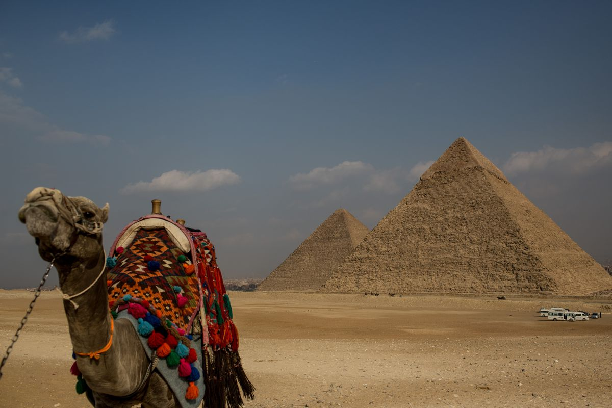 Tourists Visits Pyramids In Egypt After Recent Bomb Blasts