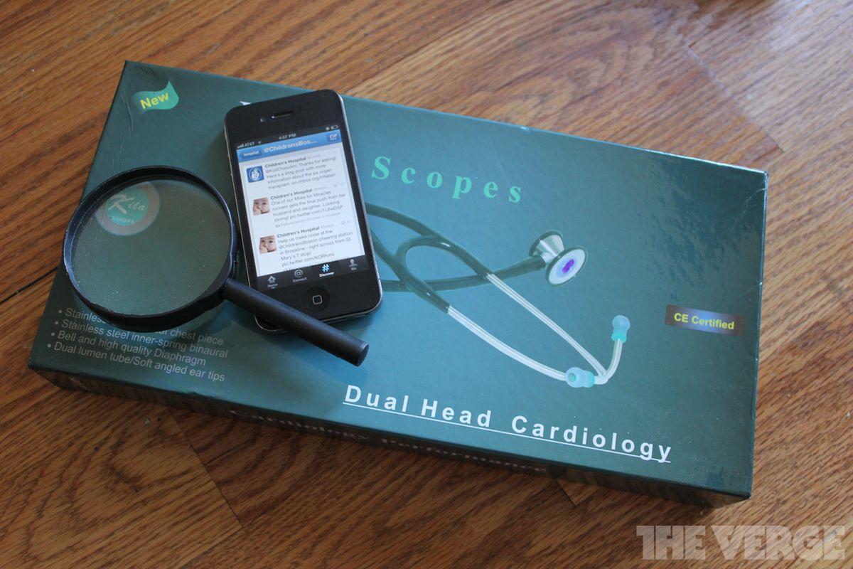 Twitter Stethoscope Box