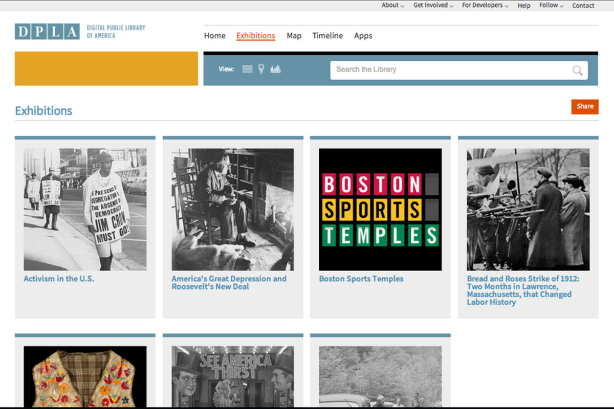 Digital Public Library of America launches beta web portal