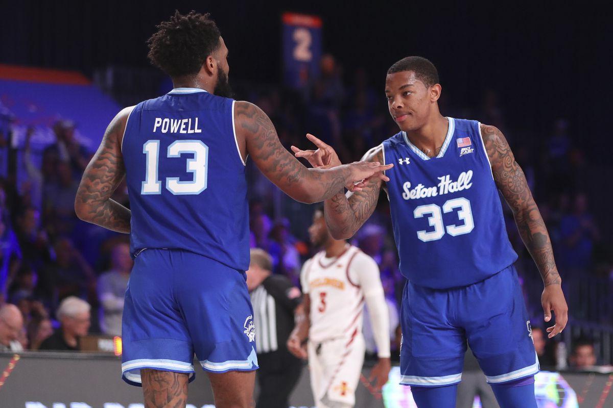 NCAA Basketball: Battle 4 Atlantis-Iowa State vs Seton Hall