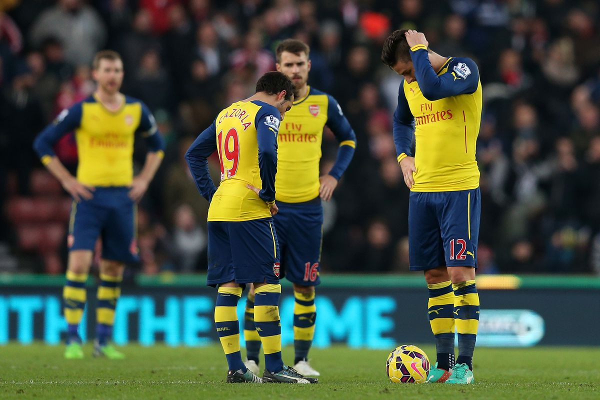 Arsenal's Saturday, in picture form