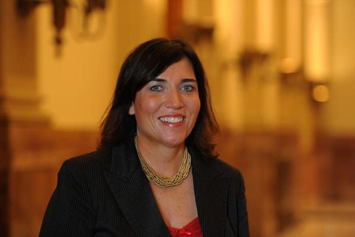 Colorado Education Association President Amie Baca-Oehlert