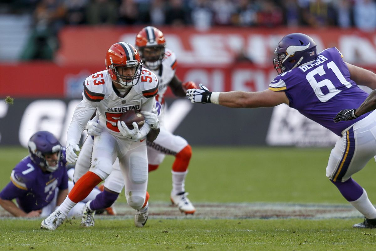 Minnesota Vikings v Cleveland Browns