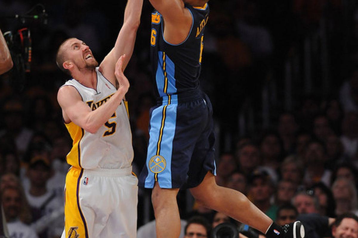 Arron Afflalo, needs to play much better ... along with his wing counterpart Danilo Gallinari.