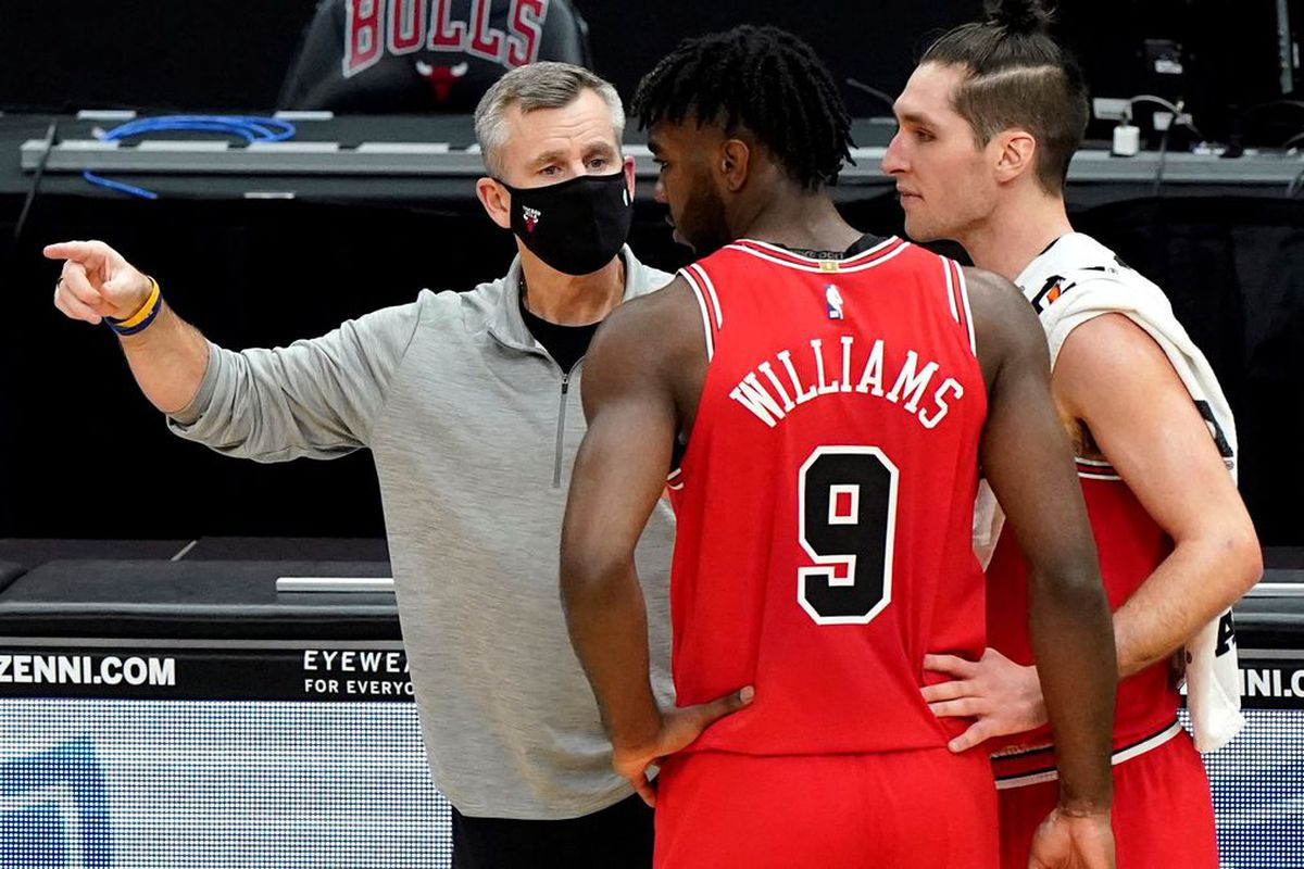 """""""Adding talent doesn't take away your problems, and if you think you're adding talent so it becomes a lot easier, it doesn't,'' Bulls coach Billy Donovan said."""