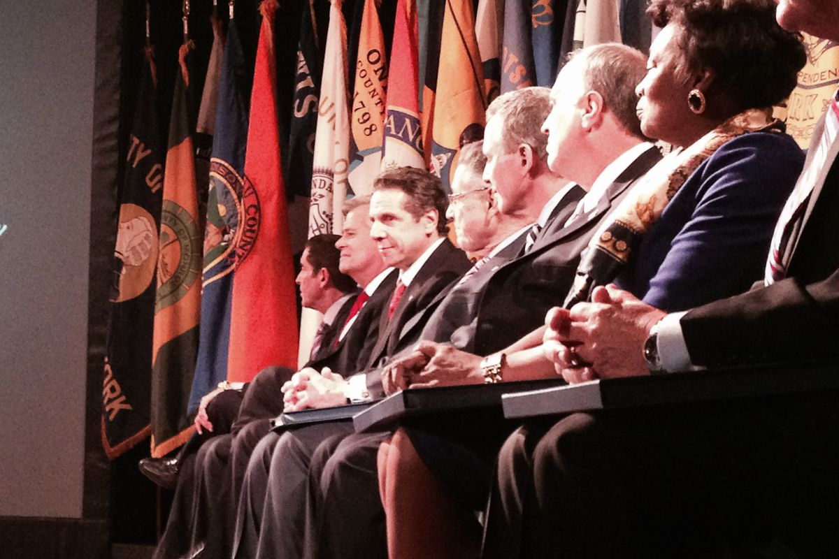 Gov. Andrew Cuomo delivered his annual State of the State address today in Albany.