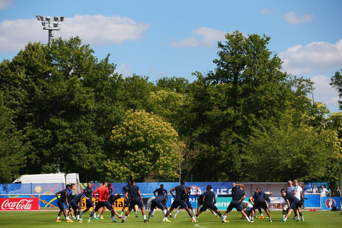UEFA Euro 2016 - France Training