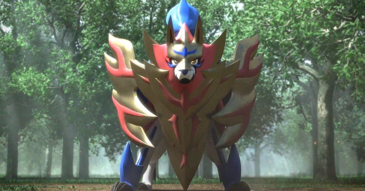 Zamazenta pokemon sword shield