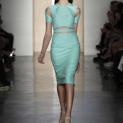 In this photo provided by Cushnie et Ochs, the Cushnie et Ochs Spring 2013 collection is modeled during Fashion Week in New York, Friday, Sept. 7, 2012.