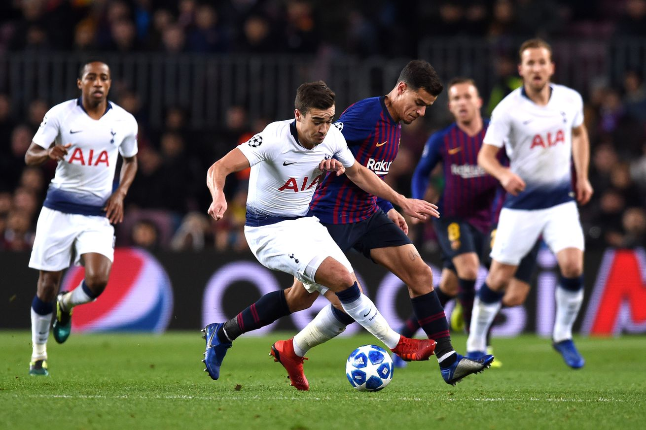 Barcelona 1-1 Tottenham: Match Review