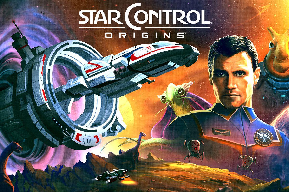 Key art for Star Control: Origins