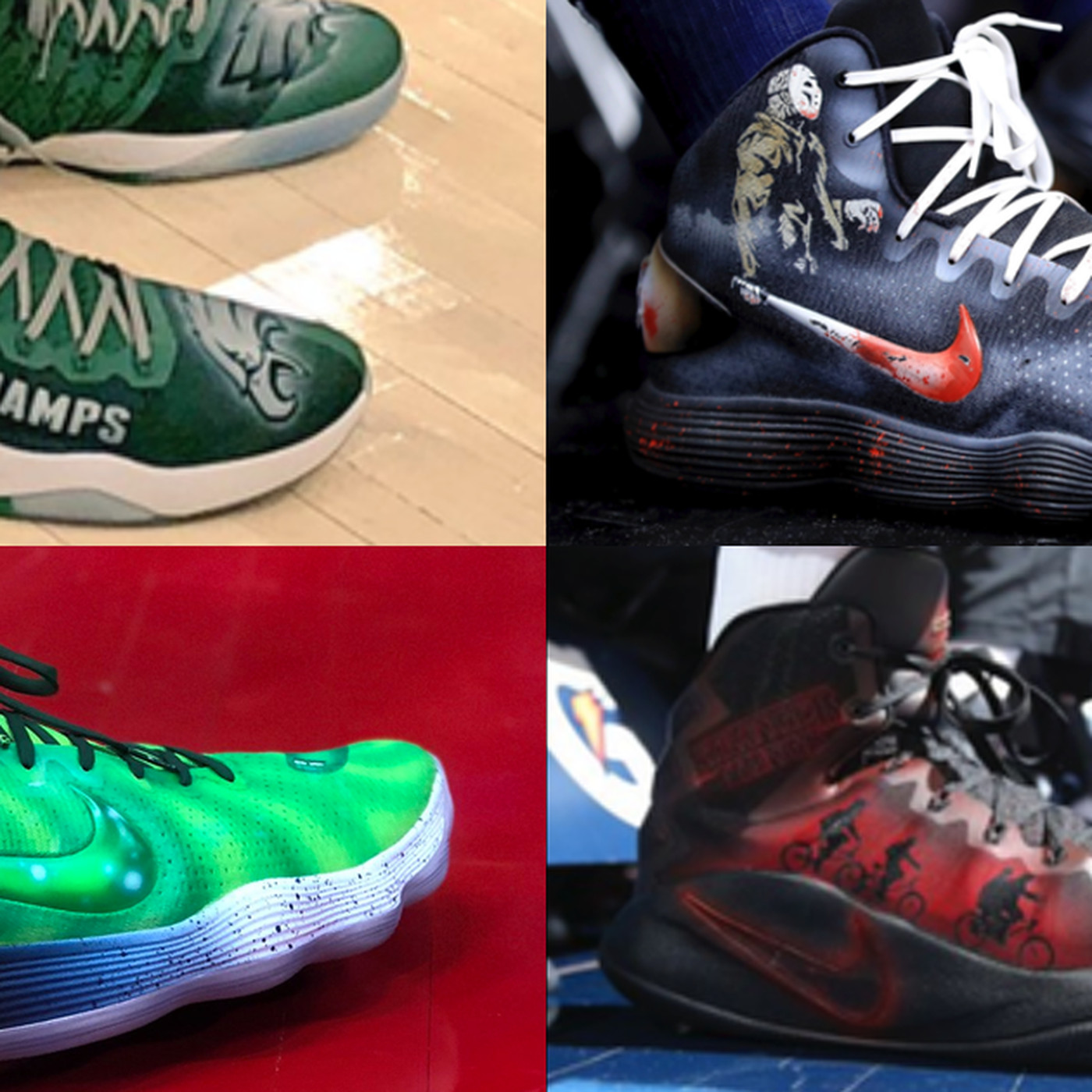 1a48d75cbfdd Karl-Anthony Towns  custom sneaker game is best in the entire NBA -  SBNation.com
