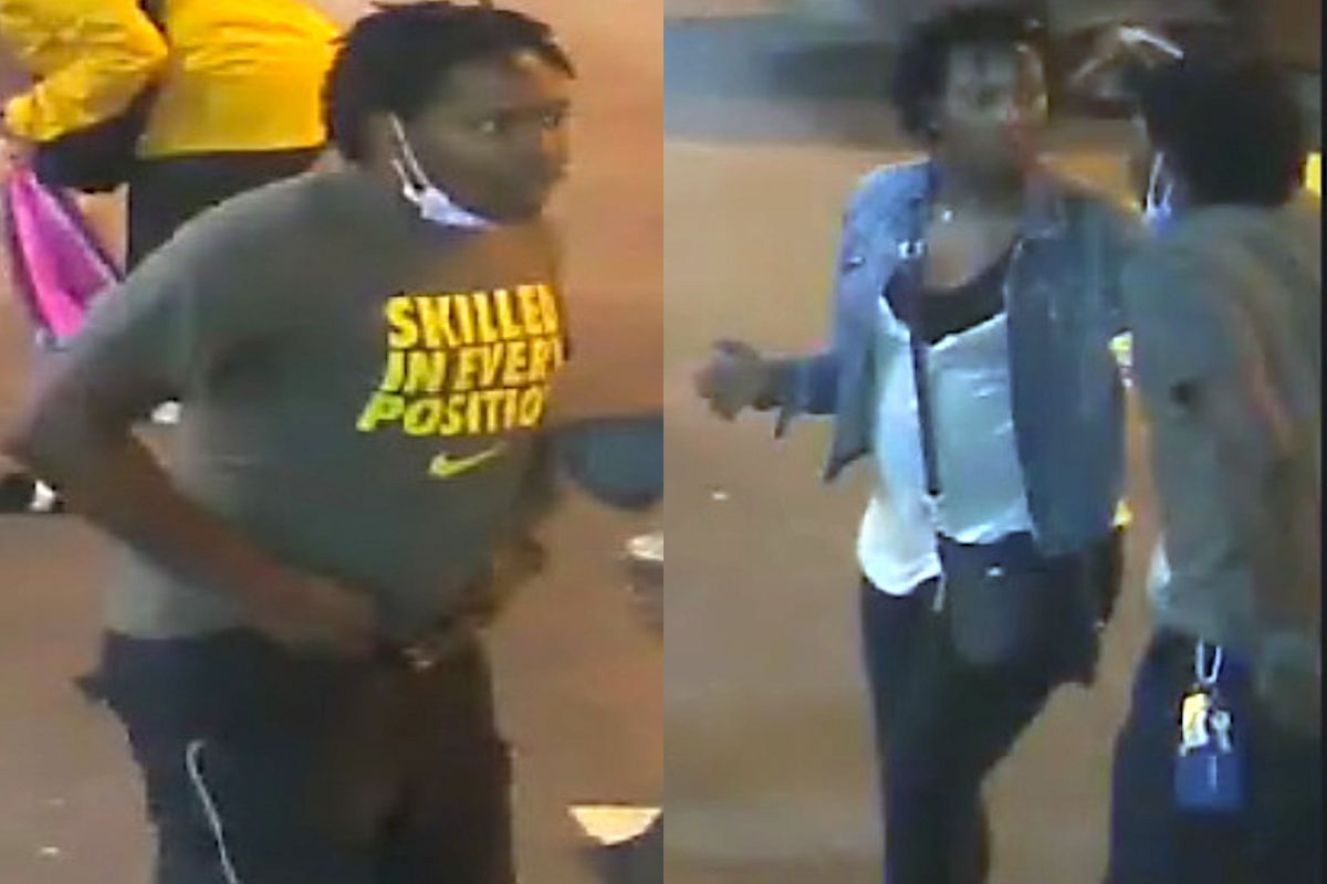 Police say these two people are wanted in a July 6, 2019 stabbing that wounded two people in the Loop.