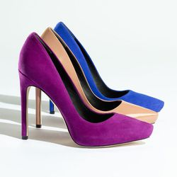 """The <a href=""""http://shop.nordstrom.com/s/rachel-roy-gardner-pump/3364607"""">Gardner pump</a>: """"The Gardner is named after <strong>Ava Gardner</strong> ($225-$250): """"It's a basic for the woman who likes a platform, but I've wrapped it so it's hidden. This sh"""