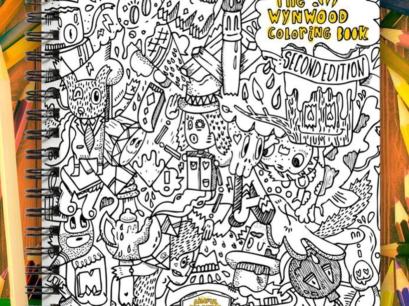 The Artist Behind A Wynwood Graffiti Coloring Book Is Creating Whole Series