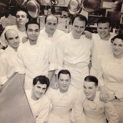 """<a href=""""http://andrewcarmellini.com/2013/11/cafe-boulud-march-2000notice-zbell-in-back/#content"""">Cafe Boulud, March 2000.</a>"""
