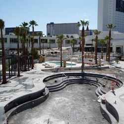 Another look at the second pool at Bagatelle Beach & Nightclub.