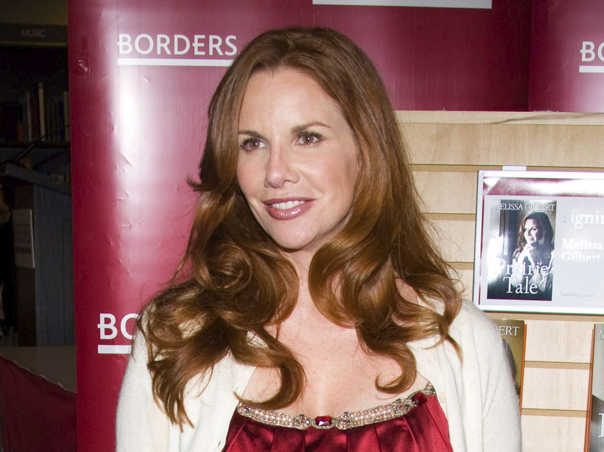 """Melissa Gilbert appears at Borders Books to promote her autobiography """"Prairie Tail"""" in New York in 2009. Gilbert starred as Laura Ingalls Wilder in the hit TV series """"Little House on the Prairie"""" in the 1970s and '80s."""