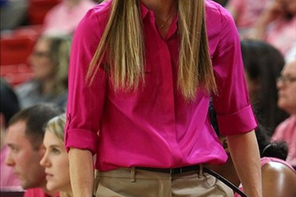 St. John's Red Storm head coach Kim Barnes Arico has her team coming together at just right time. <em>Debby Wong-US PRESSWIRE</em>