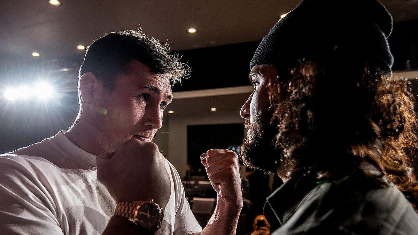 Face off! Watch Darren Till staredown Jorge Masvidal at UFC London press conference