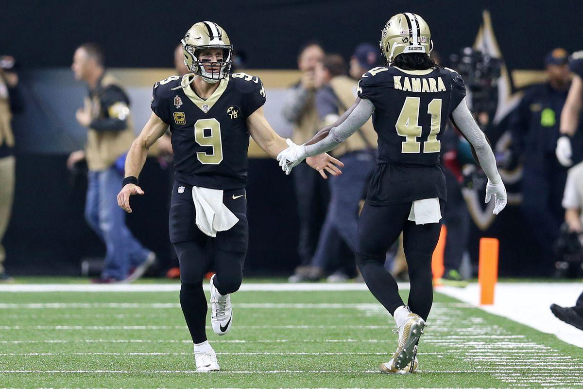 buy popular 9a63e f0352 Drew Brees, host of Saints make their mark in Pro Bowl fan ...