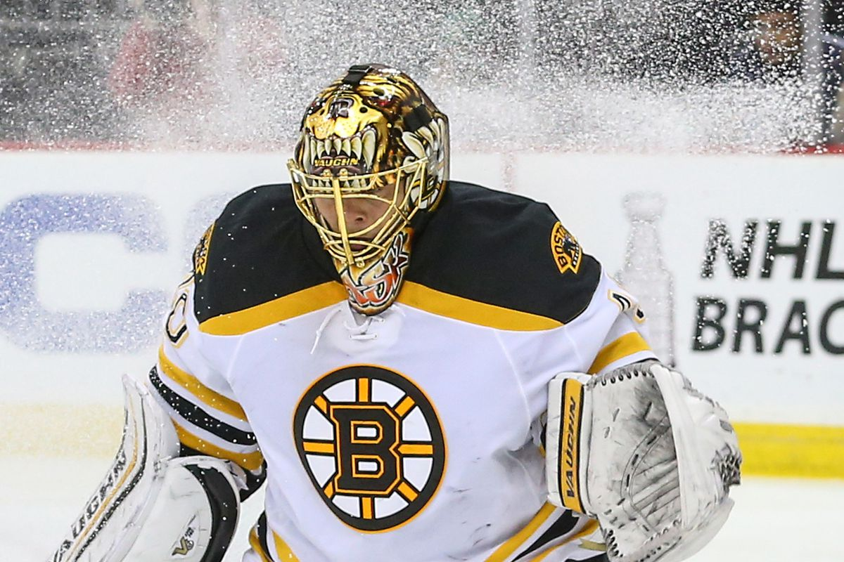 Sometimes he felt that he was left out in the cold, alone. (Tuukka Rask)