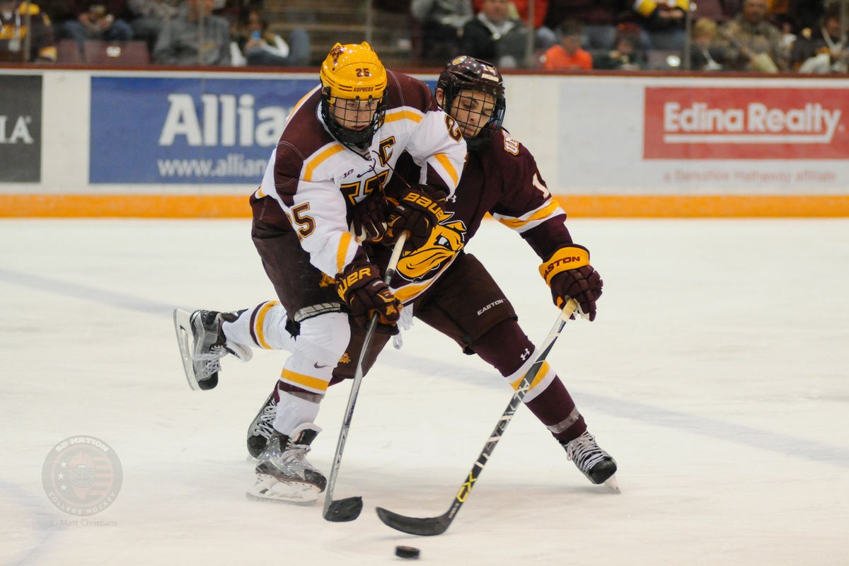 Justin Kloos (25) leads the Gophers with 9 shots on goal.
